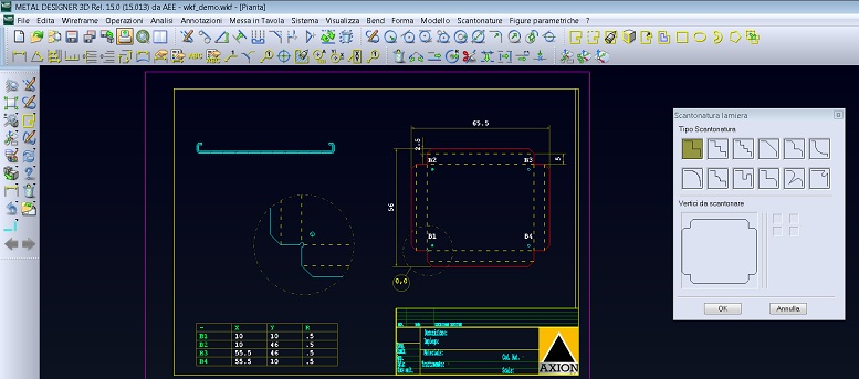 Metal Designer Cad 2d Software For Sheet Metal Working